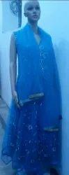 Blue Ladies Kurti