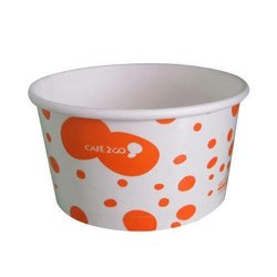 Printed Paper Ice Cream Cup, Capacity: 200 ML, for Event & Parties