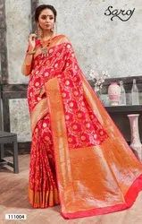 Bridal Banarasi Silk Saree