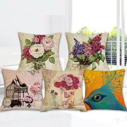 Trendy Jute Cushion Cover