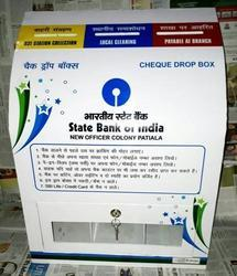 State Bank Of India Cheque Drop Box