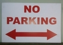 Sunpack Printing - No Parking Board