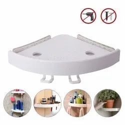 No Drilling Kitchen Toilet Bathroom Wall Mount Strong Shower Adhesive Corner