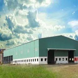 Steel Prefab Pre Engineered Warehouse Shed