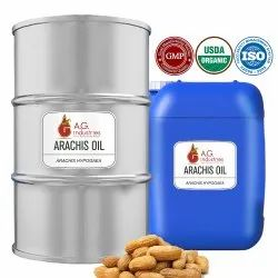 AG Industries Pale Yellow Arachis Oil, Natural
