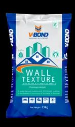 Mid sheen Vbond-Wall Texture, For PLATE, Packaging Type: BASE