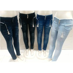 Skinny Stretchable Womens Denim Jeans, Machine Wash,Handwash