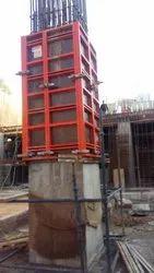 Galvanized Column Formwork System
