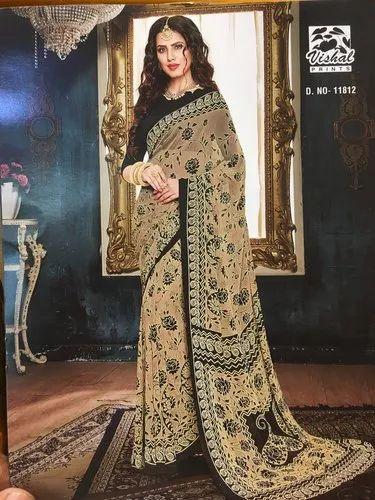 Designer Color Vishal Saree Vishal Designer Sarees Prints Catalogue 2019 Size Full Size Machine Made Rs 635 Piece Id 20631206248