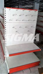 Perforated Display Racks