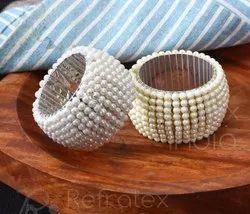 Pearl Bead Napkin Ring