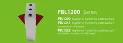 Fbl2200 ZK Flab Barrier Turnstile For Additional Lane