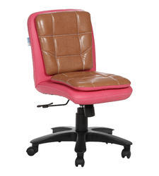 Workstation Pink and Copper Chair