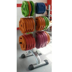 Weight Plate Rack