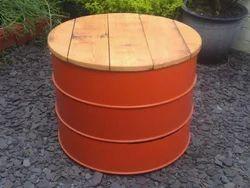 Oil Drum Table