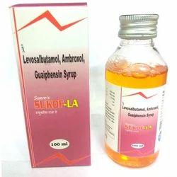 levosalbutamol Ambroxol Guaiphensin Syrup