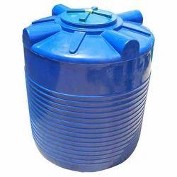 Blue Plastic Water Tank