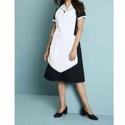 Cotton Ladies Plain Housekeeping Uniform for Hospital