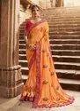 Two Tone Silk Wedding Sarees Collection