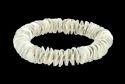 Silver Color Cris Disc Stretch Bracelet