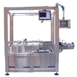 Single Side Vertical Labeling Machine