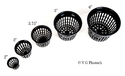Plastic Unbreakable 5 inches net pot