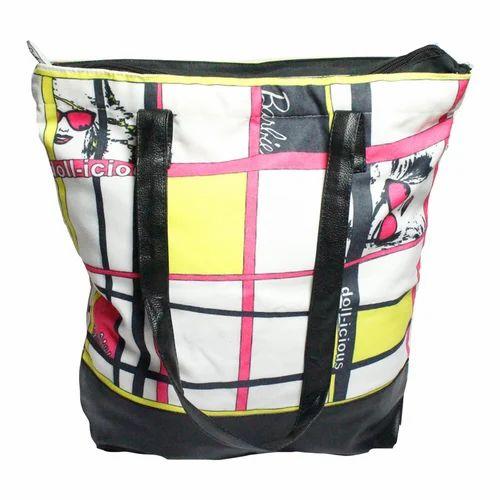 3a6ea0648d Geometric Print Tote Bag at Rs 200  piece