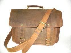 Buffalo Leather Office Satchel Bag