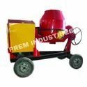 Cast Iron Drum Concrete Mixer