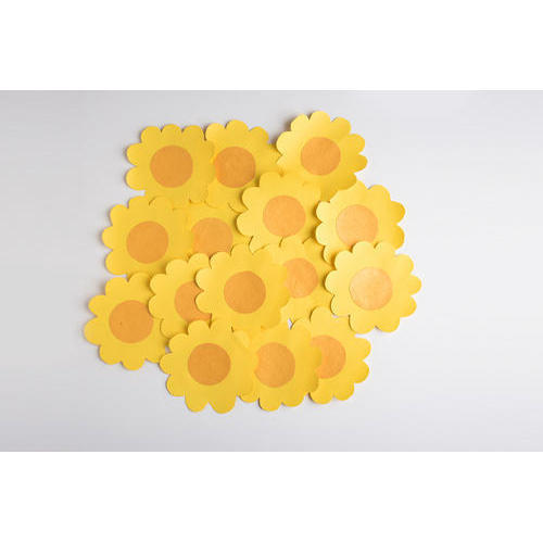 Paper Flower Yellow Color