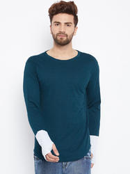 Men Casual Full Sleeves Cotton T-Shirt