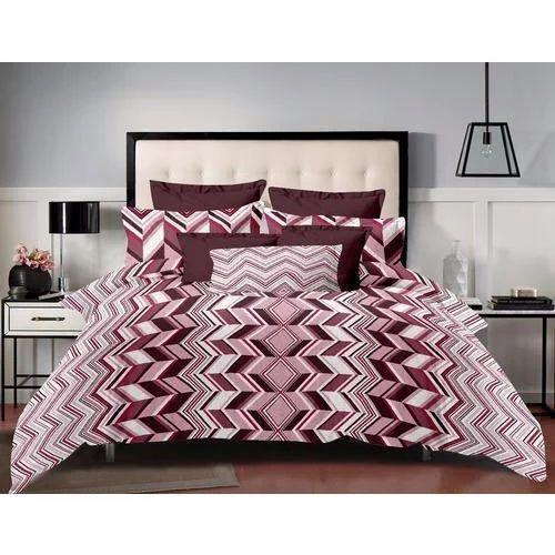 printed bed sheet set rs 525 set mustard designing india id