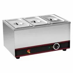 Electric Stainless Steel Bain Marie Food Warmer