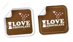 Chocolate Stickers