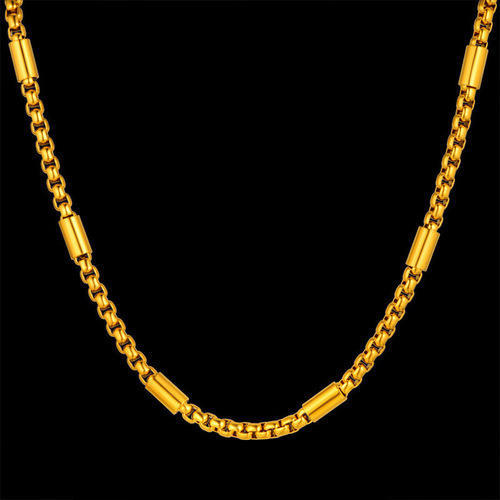 chain s necklace solid real men store with gold yellow authentic cuban mens not money chains online gf link product