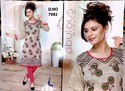 Printed Kurti For Embroidery Ladies