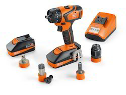 Professional Set for ABS 18 QC Tapping Cordless Drill With 18 V Battery