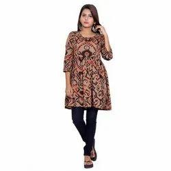 Jaipuri Cotton Short Kurti