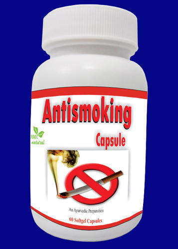 Antismoking Softgel Capsules