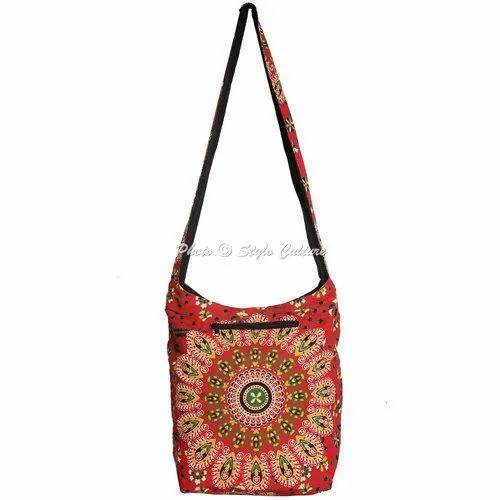 Mandala Cotton Printed Jhola Bags