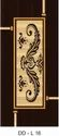 Laminated Solid Wood Dd-l16 Glass Coated Doors For Home