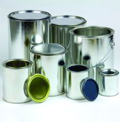 Plain Paint Tin Container