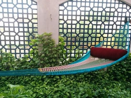 Nylon Rope Hammock With Net