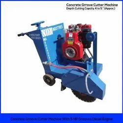 Concrete Groove Cutter Machine