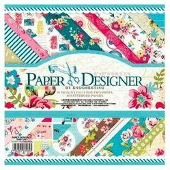 Qatalitic Set Of 40 Pattern Design Printed Papers For Art & Craft (vs8005),size: 8 X 8 Inch