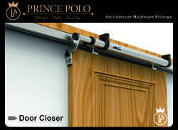 Silver Color Aluminium Sliding Door Closer, Size: 700 mm
