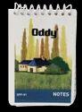 Oddy Spiral Pocket Notebook