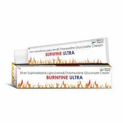 Burnfine Ultra - Silversulphadiazine 1% , Lignocaine 2% , Chlorhexidine 0.2%