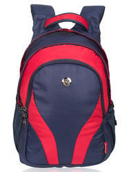 Navy-Red Adventure Casual Backpack Bag