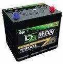 55D23L 12V 65AH Automotive Car Battery